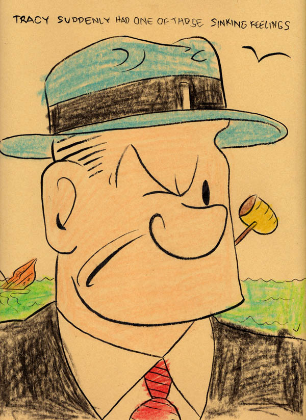 """COLORING BOOK JUMBLE 1 DICK TRACY POPEYE"" is copyright ©2008 by Jeremy Eaton.  All rights reserved.  Reproduction prohibited."