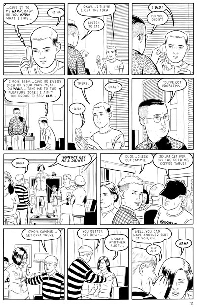 """OPTIC NERVE #8 / page 11"" is copyright ©2008 by Adrian Tomine.  All rights reserved.  Reproduction prohibited."