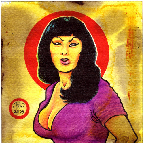 """Tura Satana"" is copyright ©2008 by J.R. Williams.  All rights reserved.  Reproduction prohibited."