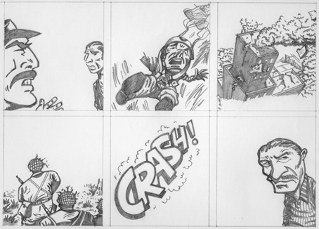 """CRASH! (A PRELIMINARY STUDY)"" is copyright ©2008 by Jeremy Eaton.  All rights reserved.  Reproduction prohibited."