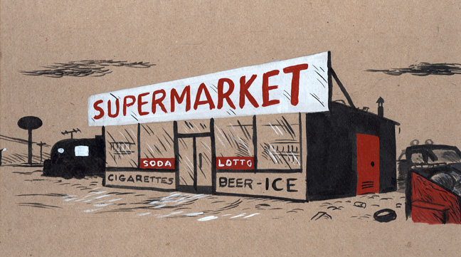 """supermarket"" is copyright ©2008 by  Mats!?.  All rights reserved.  Reproduction prohibited."