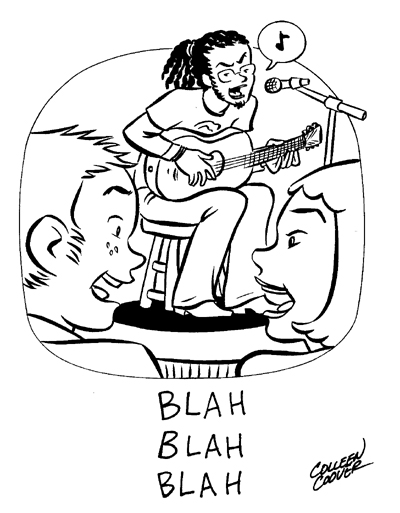 """Blah Blah Blah"" is copyright ©2008 by Colleen Coover.  All rights reserved.  Reproduction prohibited."