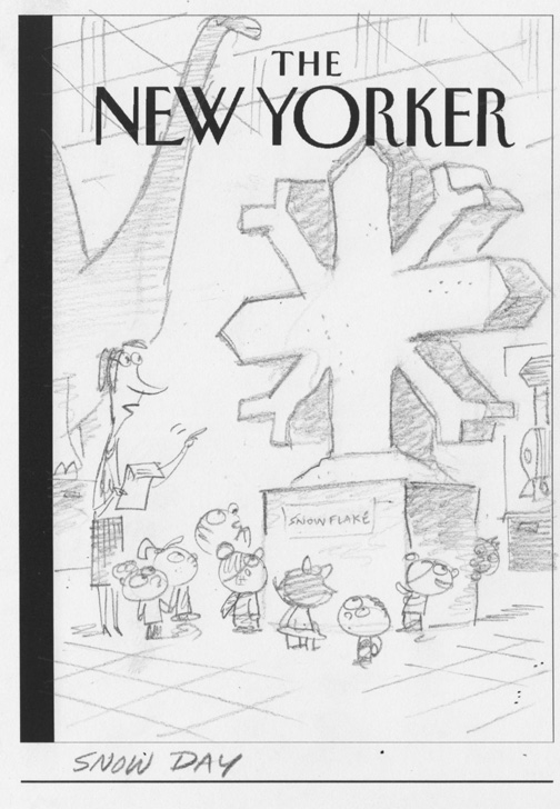 """New Yorker - Global Warming"" is copyright ©2008 by Bob Staake.  All rights reserved.  Reproduction prohibited."