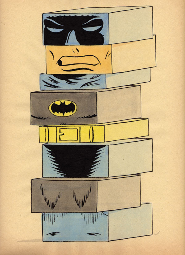 """BUILDING BLOCK BATMAN V2"" is copyright ©2008 by Jeremy Eaton.  All rights reserved.  Reproduction prohibited."