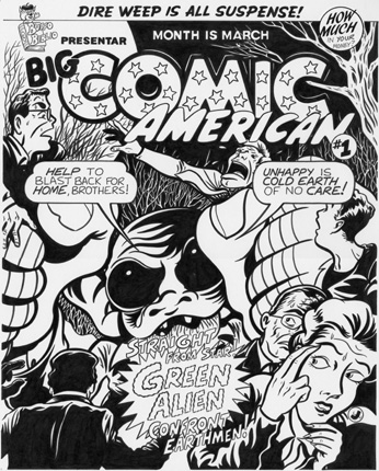 """BIG COMIC AMERICAN"" is copyright ©2008 by Jeremy Eaton.  All rights reserved.  Reproduction prohibited."