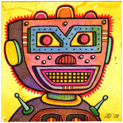 """Bad Boy Robot"" is copyright ©2008 by J.R. Williams.  All rights reserved.  Reproduction prohibited."
