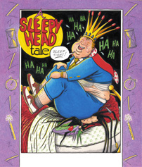 """A SLEEPYHEAD TALE- COVER"" is copyright ©2008 by Jeremy Eaton.  All rights reserved.  Reproduction prohibited."