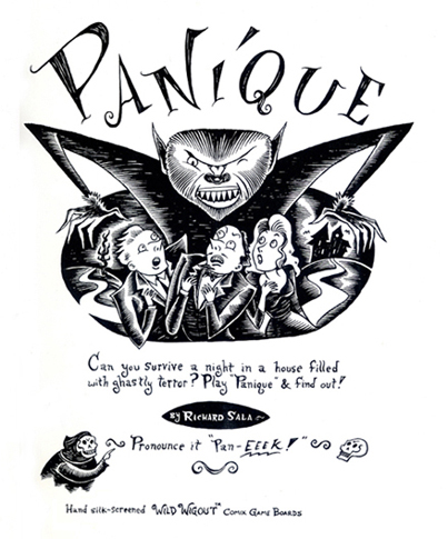 """Panique!"" is copyright ©2008 by Richard Sala.  All rights reserved.  Reproduction prohibited."