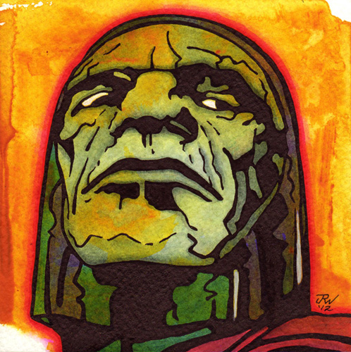 """Darkseid"" is copyright ©2008 by J.R. Williams.  All rights reserved.  Reproduction prohibited."