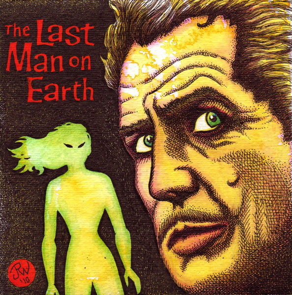 """Vincent Price - The Last Man on Earth"" is copyright ©2008 by J.R. Williams.  All rights reserved.  Reproduction prohibited."