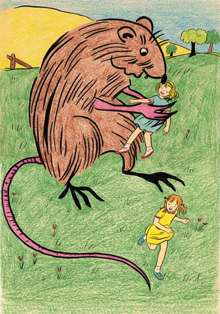 """RATS! (large image view)"" is copyright ©2008 by Jeremy Eaton.  All rights reserved.  Reproduction prohibited."