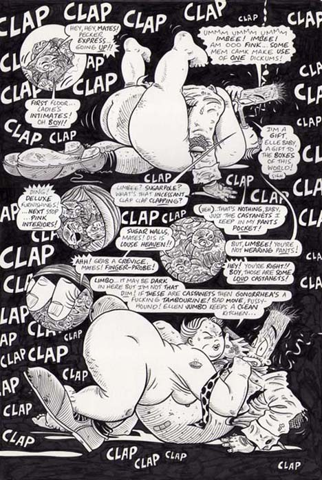 """HUMP CRAZY! #1, PG.18"" is copyright ©2008 by Jeremy Eaton.  All rights reserved.  Reproduction prohibited."