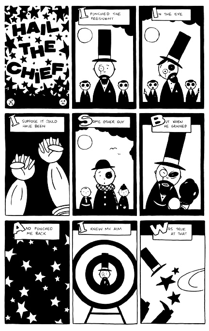 """HAIL THE CHIEF! (A WORLD OF TROUBLE)"" is copyright ©2008 by Jeremy Eaton.  All rights reserved.  Reproduction prohibited."