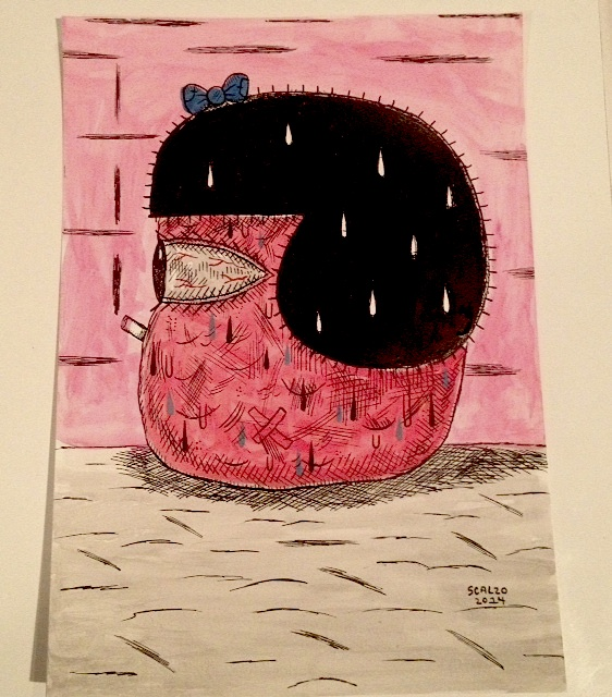 """GUSTON NANCY"" is copyright ©2008 by Kevin Scalzo.  All rights reserved.  Reproduction prohibited."