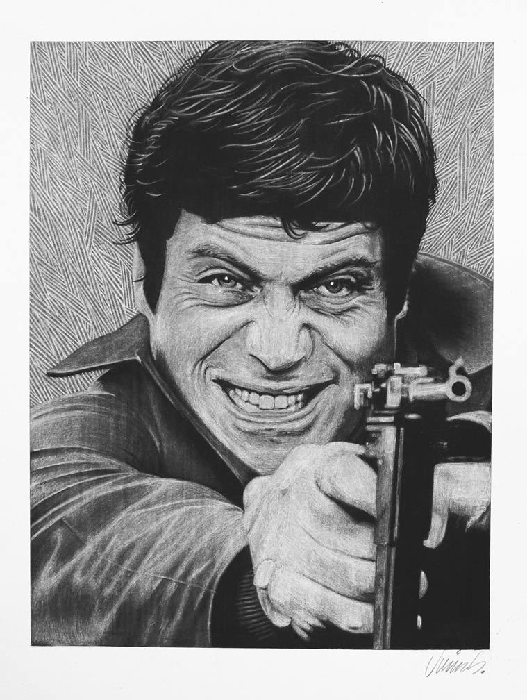 """OLIVER REED"" is copyright ©2008 by Jim Blanchard.  All rights reserved.  Reproduction prohibited."
