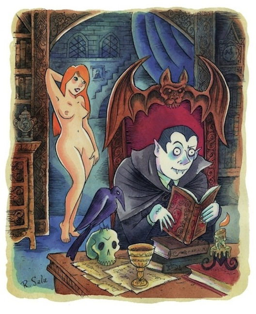 Dracula Art Images Dracula Art For Playboy