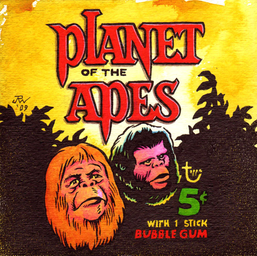 """Planet of the Apes"" is copyright ©2008 by J.R. Williams.  All rights reserved.  Reproduction prohibited."