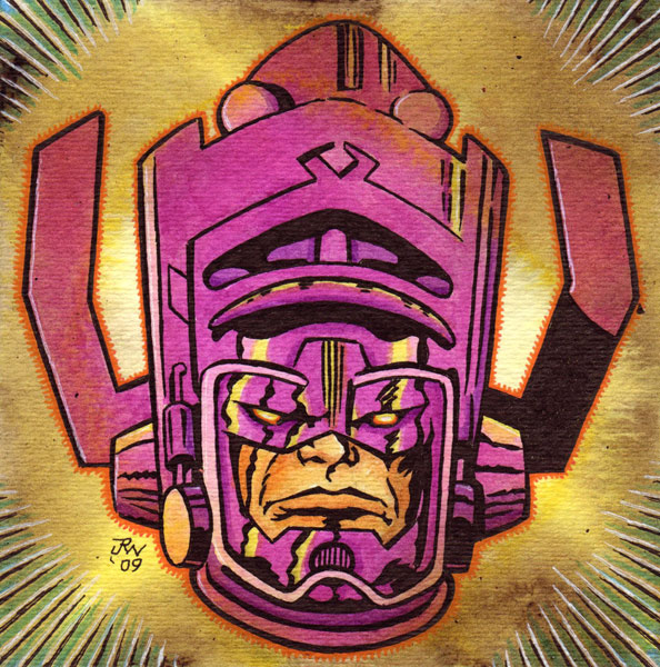 """Galactus"" is copyright ©2008 by J.R. Williams.  All rights reserved.  Reproduction prohibited."