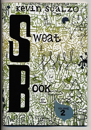 """Sweat Book #2"" is copyright ©2008 by Kevin Scalzo.  All rights reserved.  Reproduction prohibited."