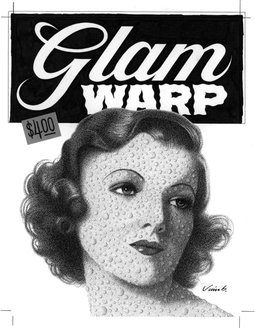 """GLAM WARP COVER VERSION 1"" is copyright ©2008 by Jim Blanchard.  All rights reserved.  Reproduction prohibited."