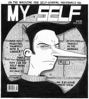 """MY SELF"" is copyright ©2008 by Jeremy Eaton.  All rights reserved.  Reproduction prohibited."