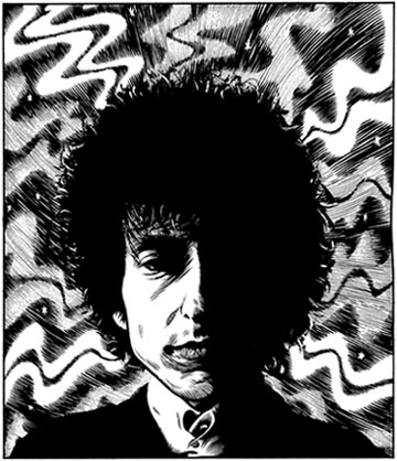 """Bob Dylan"" is copyright ©2008 by Eric Reynolds.  All rights reserved.  Reproduction prohibited."