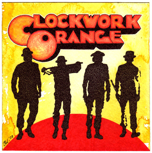 """A Clockwork Orange"" is copyright ©2008 by J.R. Williams.  All rights reserved.  Reproduction prohibited."