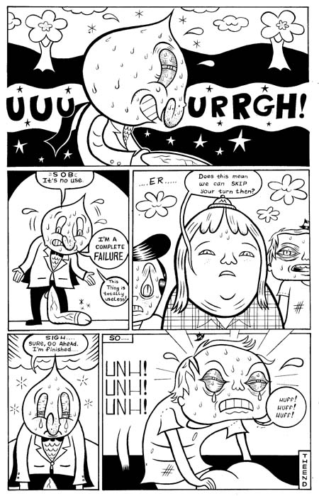 """Dirty Stories III: Super Stud pg. 4"" is copyright ©2008 by Kevin Scalzo.  All rights reserved.  Reproduction prohibited."
