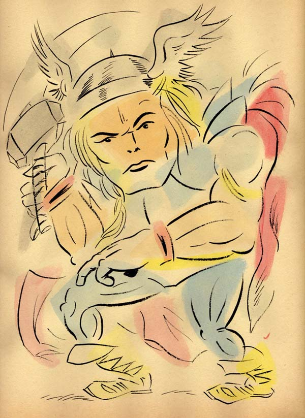 """NEO-EXPRESSIVE THOR"" is copyright ©2008 by Jeremy Eaton.  All rights reserved.  Reproduction prohibited."