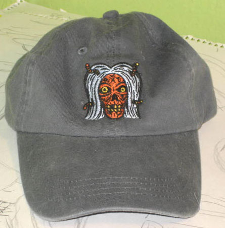 """Zombie Cap"" is copyright ©2008 by  Mats!?.  All rights reserved.  Reproduction prohibited."
