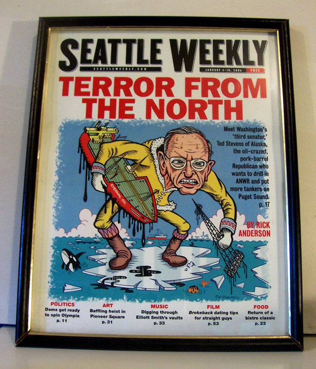 """Seattle Weekly: Terror from the North"" is copyright ©2008 by Pat Moriarity.  All rights reserved.  Reproduction prohibited."