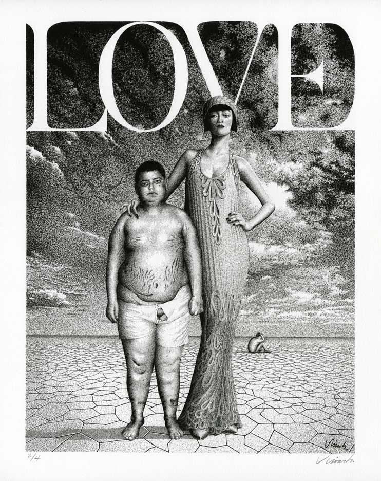 """LOVE GICLEE PRINT"" is copyright ©2008 by Jim Blanchard.  All rights reserved.  Reproduction prohibited."