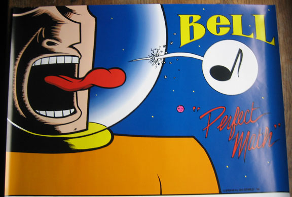 """Bell ""Perfect Math"" poster"" is copyright ©2008 by Eric Reynolds.  All rights reserved.  Reproduction prohibited."
