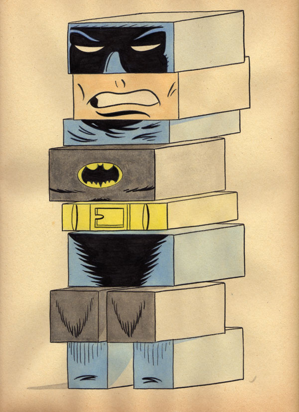 """BUILDING BLOCK BATMAN"" is copyright ©2008 by Jeremy Eaton.  All rights reserved.  Reproduction prohibited."