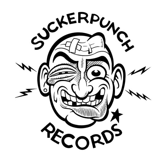 """Suckerpunch Records logo"" is copyright ©2008 by Pat Moriarity.  All rights reserved.  Reproduction prohibited."