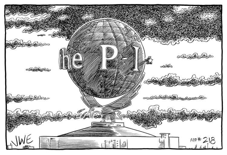 """THE POST INTELLIGENCER"" is copyright ©2008 by Jeremy Eaton.  All rights reserved.  Reproduction prohibited."