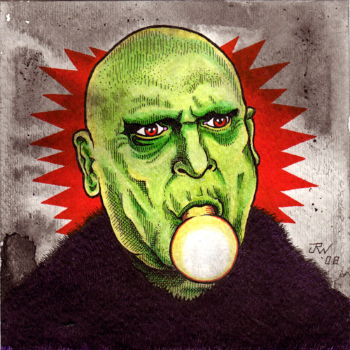 """Uncle Fester"" is copyright ©2008 by J.R. Williams.  All rights reserved.  Reproduction prohibited."