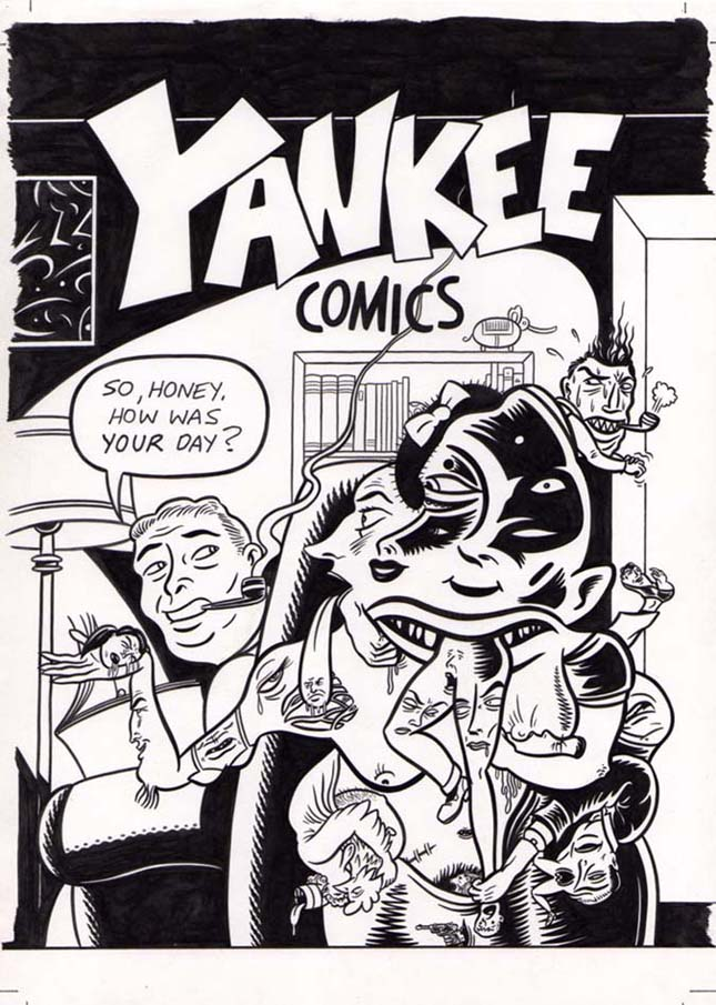 """YANKEE COMICS"" is copyright ©2008 by Jeremy Eaton.  All rights reserved.  Reproduction prohibited."