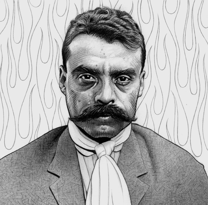Emiliano zapata fully emiliano zapata salazar great for Emiliano zapata mural