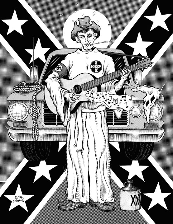 """SINGIN' KLANSMAN"" is copyright ©2008 by Jim Blanchard.  All rights reserved.  Reproduction prohibited."