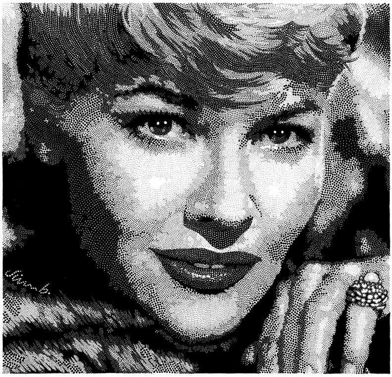 """PATTI PAGE"" is copyright ©2008 by Jim Blanchard.  All rights reserved.  Reproduction prohibited."