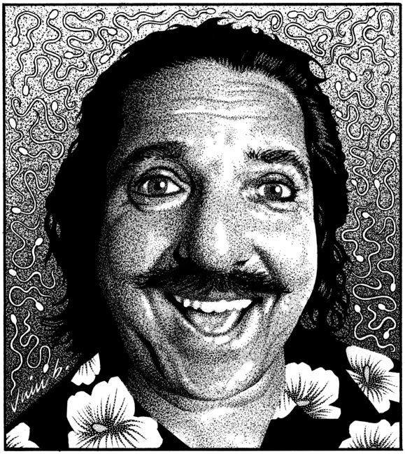 """RON JEREMY"" is copyright ©2008 by Jim Blanchard.  All rights reserved.  Reproduction prohibited."