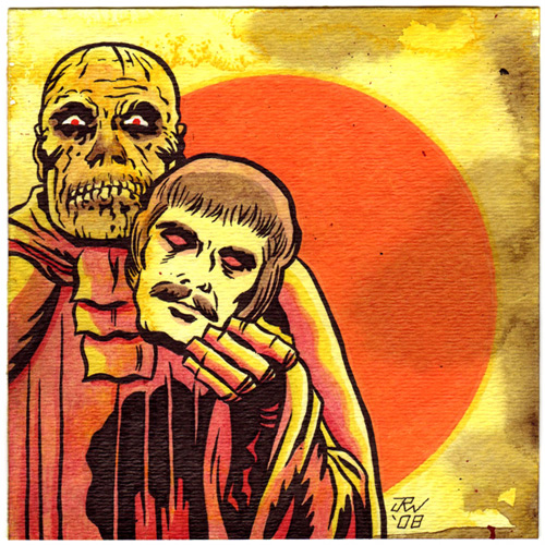 """Dr. Phibes"" is copyright ©2008 by J.R. Williams.  All rights reserved.  Reproduction prohibited."