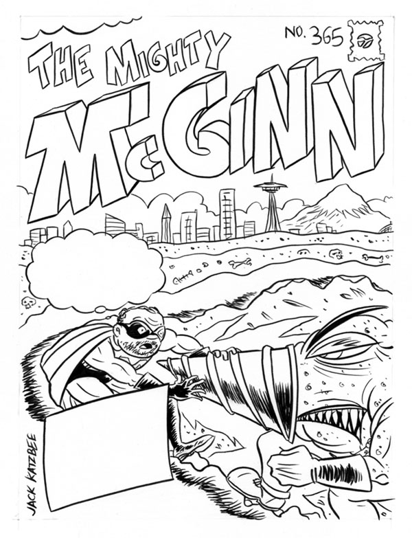 """THE MIGHTY MAYOR MCGINN"" is copyright ©2008 by Jeremy Eaton.  All rights reserved.  Reproduction prohibited."