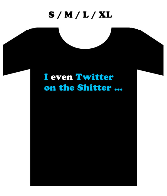 """Twitter tees *Even*"" is copyright ©2008 by  Mats!?.  All rights reserved.  Reproduction prohibited."