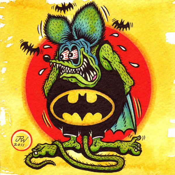 """Bat Fink!"" is copyright ©2008 by J.R. Williams.  All rights reserved.  Reproduction prohibited."