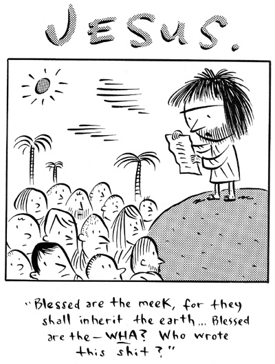 'Blessed are the meek ' by Ivan Brunetti