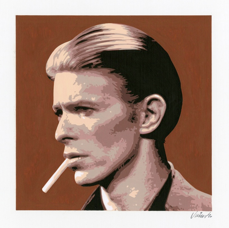 """DAVID BOWIE #2"" is copyright ©2008 by Jim Blanchard.  All rights reserved.  Reproduction prohibited."