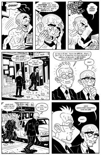 """MW #10, page 18"" is copyright ©2008 by Bob Fingerman.  All rights reserved.  Reproduction prohibited."